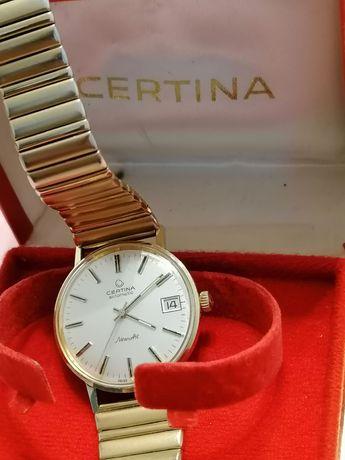 Ceas de Aur 14 K. Automatic Certina NewArt