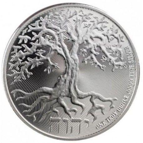 Moneda argint 999 lingou, Pomul Vietii 2019, 1 uncie = 31 grame