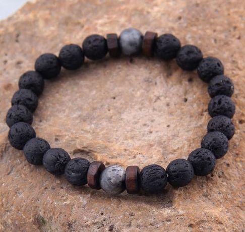 Zeades MOnte Carlo гривни гривна с естестени камъни
