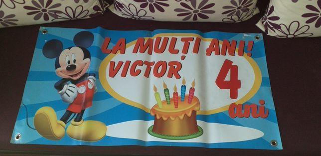 Banner la multi ani victor