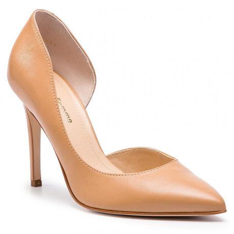 Pantofi stiletto nude (+flecuri de rezerva)