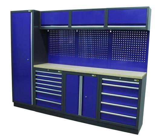 Modul mobilier metalic pentru atelier model 3