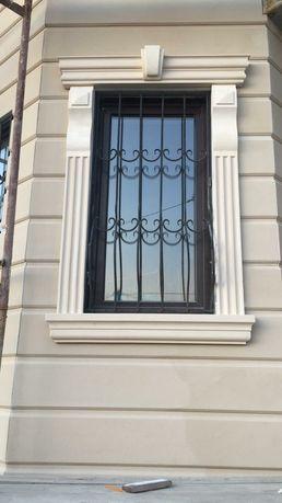 Декоративный фасад из пенопласта