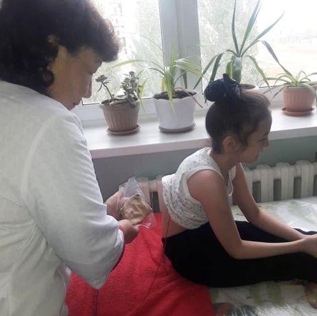 Детский массаж стаж 35 лет