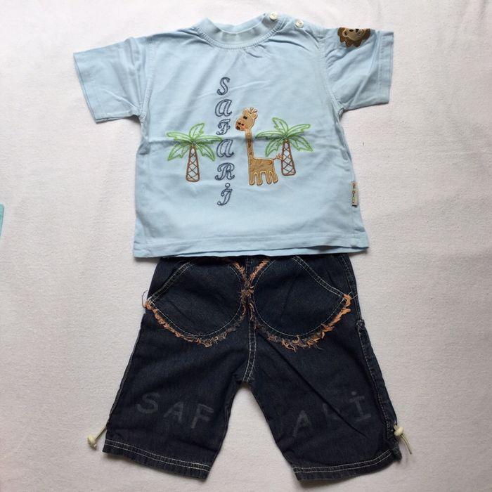 Tricou si pantaloni scurti, baiat, 1-1,5 ani Bucuresti - imagine 1