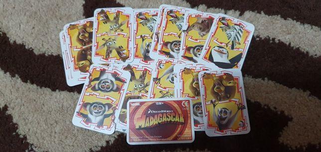 Cartonase Nestle Madagascar 2008, joc domino