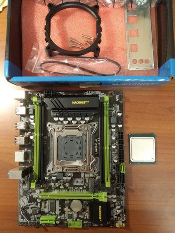 Материнская плата X79 + Процессор Intel Xeon E5-2650v2