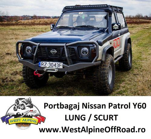 Portbagaj Nissan Patrol Y60 - SLIM Heavy Duty OFF ROAD - Lung / Scurt