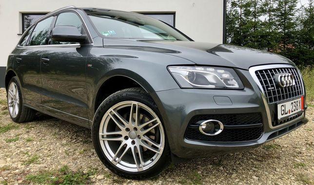 Audi Q5 3xS-Line 2.0 170 cp Euro 5 Bi-Xenon/Led/Fata plus Spate/Piele/