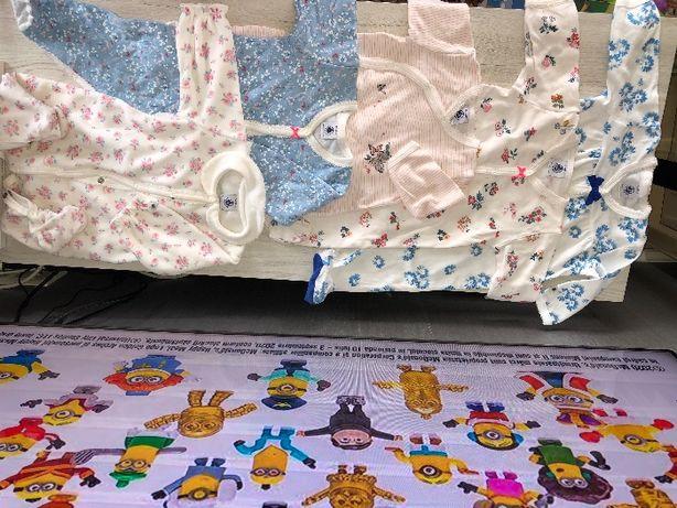 vand haine bebe - marime 0-3 luni, PETIT BATEAU (Fr), sunt NOI si SH
