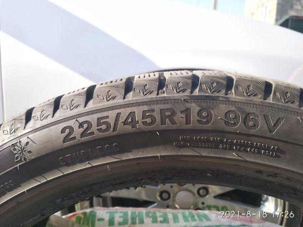 Продам зимние шины Triangle SnowLink 225х45х19