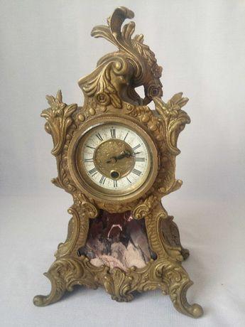 Механические часы из бронзы