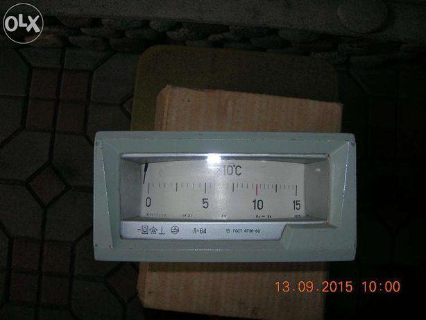 Логометр Л-64 для измерения температуры 0 -150 градусов.