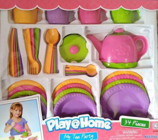 Набор  посуды  игрушечной
