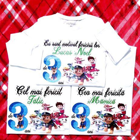 Tricouri personalizate aniversare #băiețel