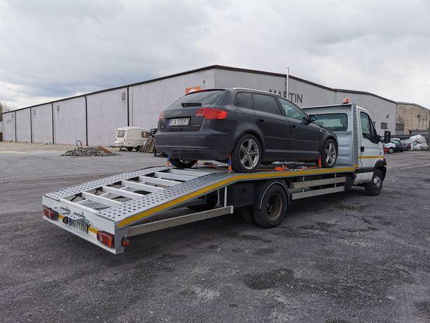 AUTOPLATFORMA XXL 6,10M 3,5T Platforma Auto MASTER Iveco daily 35C15