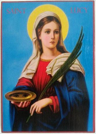 Икона на Света Лусия - закрилница на слепите ikona sveta lusia