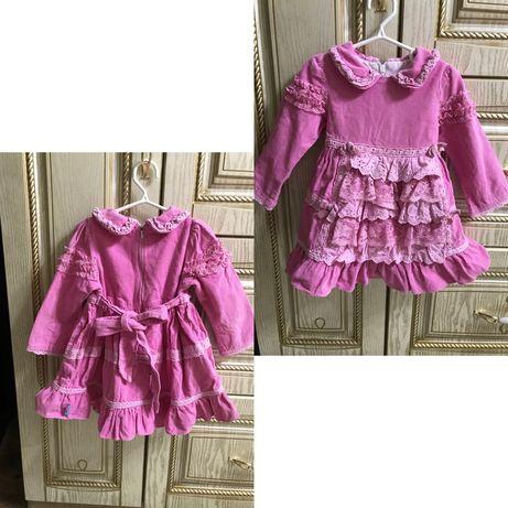 Детские одежды платья,сарафаны от 1 до 6 лет