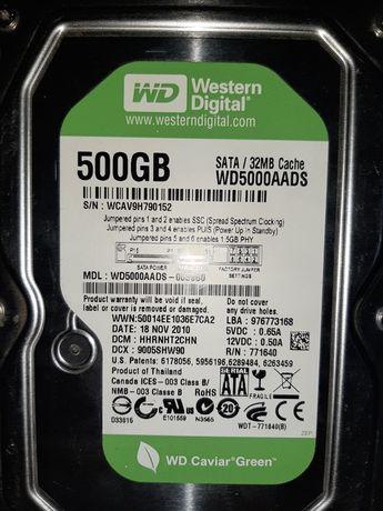 2 x HDD 500Gb WesternDigital