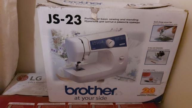 Brother 23 швейная машина в идеальном состоянии