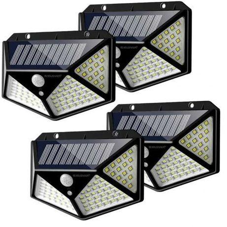 Lampi solare 30 si 100 leduri Senzori de miscare