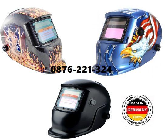 НЕМСКА Соларна заварачна маска шлем за заваряване с електрожен