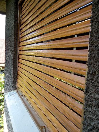 Reparatii jaluzele (rulouri) lemn exterioare