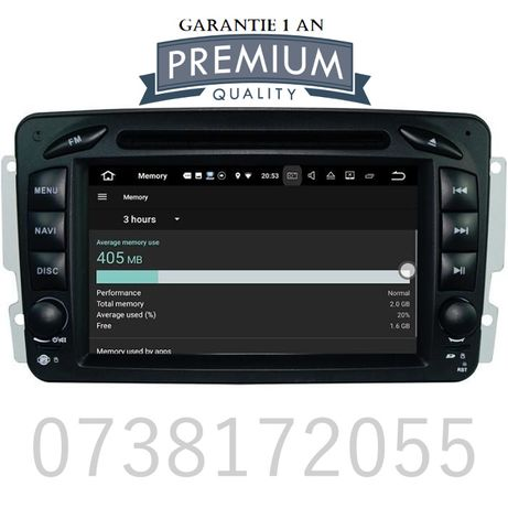 Navigatie GPS Android Mercedes C Class CLK Vaneo Vito Viano W203 DVD