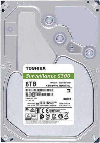 Жесткий диск для Видеонаблюдения HDD 8Tb TOSHIBA S300