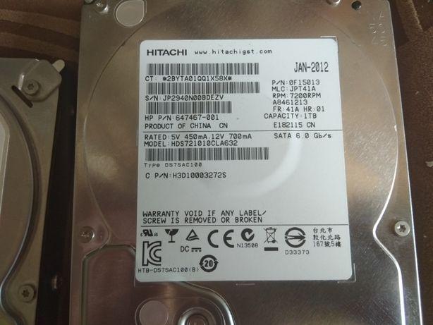 Продается жесткие диски HDD 160,250,320 и 500 Гб