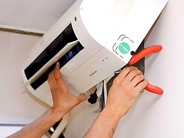 Установка (заправка) и демонтаж кондиционеров