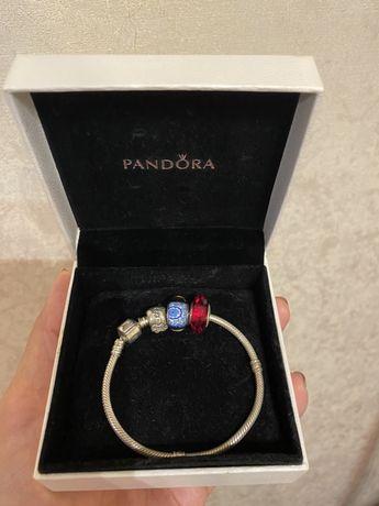 Pandora серебрянный браслет