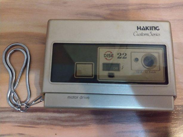 Camera Haking Disc 22 aparat foto retro vintage de colectie anii 80