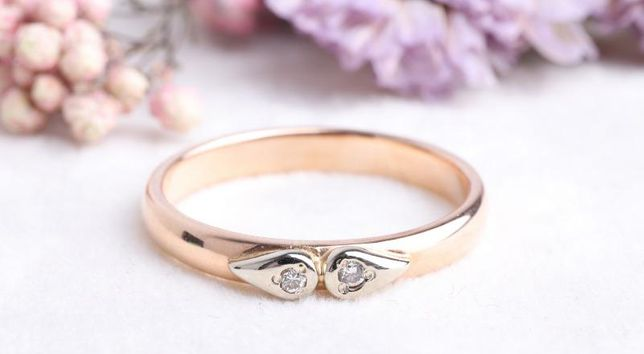Кольцо с бриллиантами, золото 585 Россия, вес 2.89 г. «Ломбард Белый»