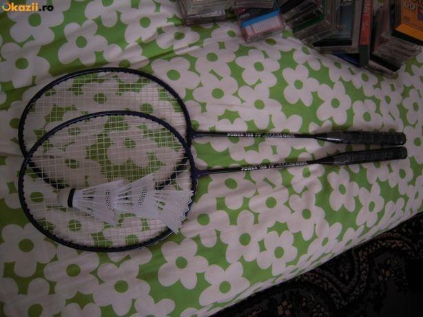 SET de 2 Rachete de badminton POWER 108 - Attacker si 3 fluturasi