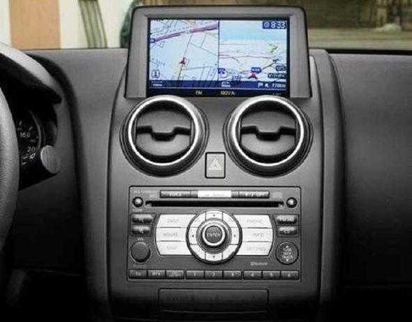 DVD harti navigatie Nissan Qashqai Murano Navara Pathfinder X-Trail
