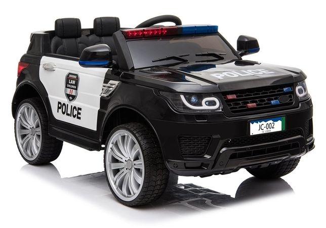 Masinuta electrica POLICE JC002 12V PREMIUM #Negru