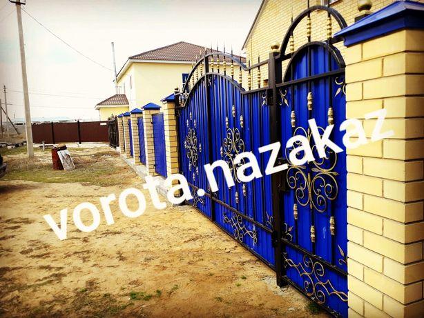 Ворота, заборы, решетки, металические двери, навесы, тапчаны,