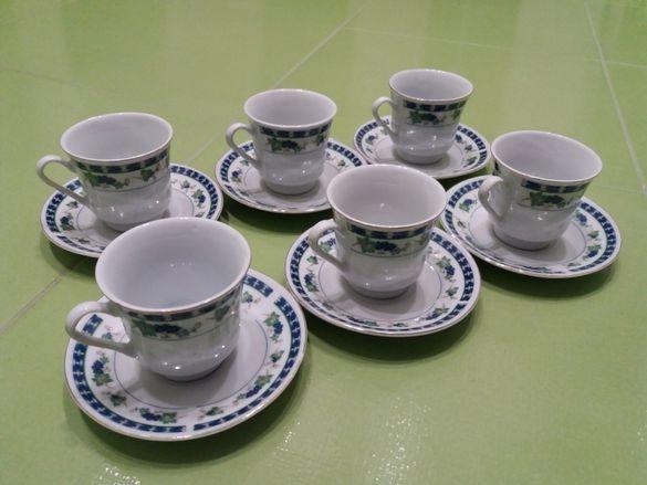 Порцеланов сервиз за кафе 6 бр. Tao Hui - FINE PORCELAIN