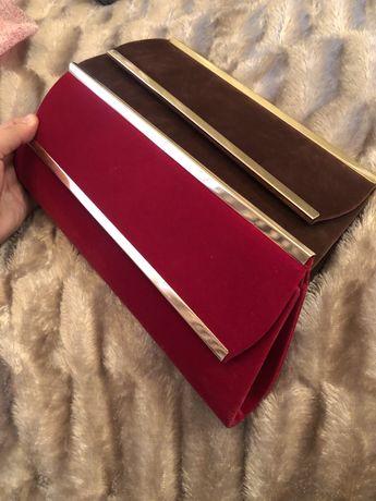 Красивые Новые клатчи и сумочка
