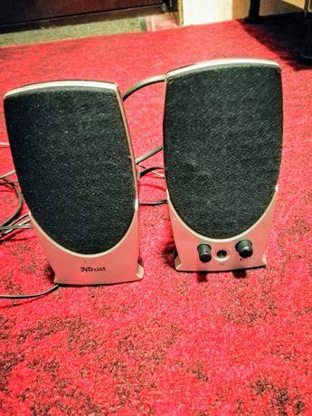 vând boxe cu mufă jack și mufă cască audio