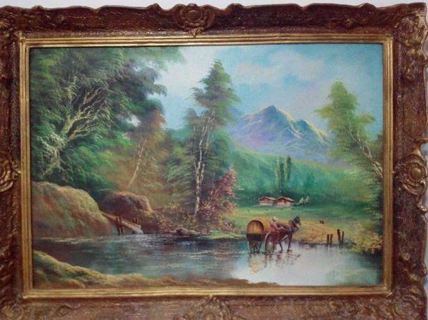Tablou pictat pe panza
