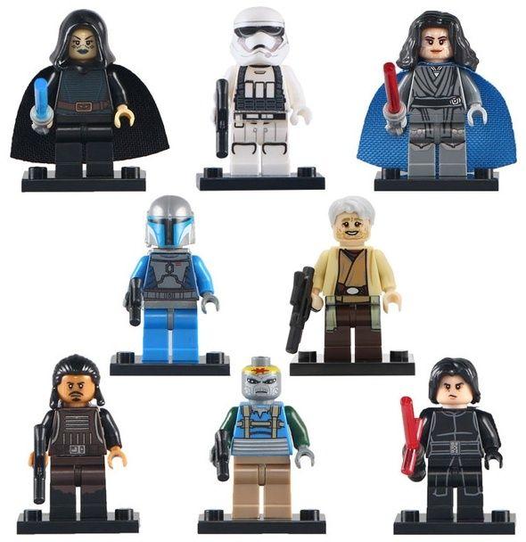 Set 8 Minifigurine tip Lego Star Wars cu Mandalorian Trooper Bucuresti - imagine 1