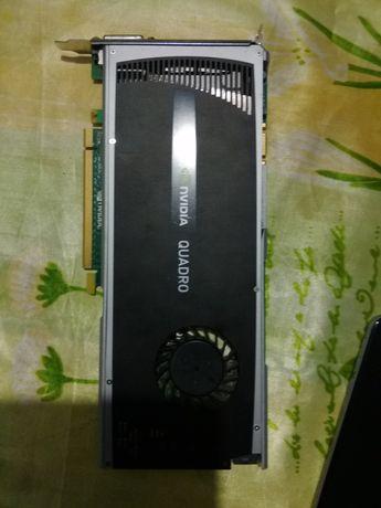 Видео карта Nvidia Quadro 4000