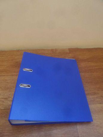 Новая синяя папка с файл листами.