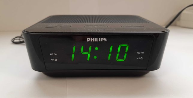 Radio ceas Philips AJ3116/12, Digital, FM, Alarma