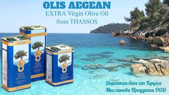 Olis 0,5л/1л/3л/5л - ПРЕМИУМ Гръцки Зехтини и Маслини от остров ТАСОС