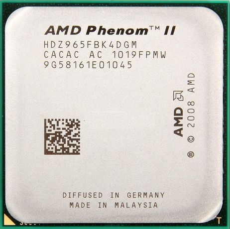 AMD Phenom II X4 965 Black Edition /3.4GHz/