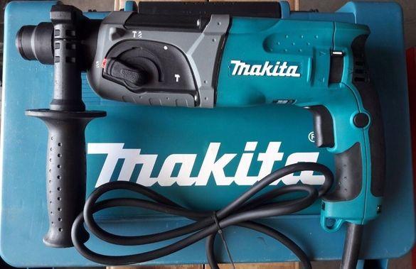 Перфоратор Макита професионален къртач Makita HR2470F 800W SDS