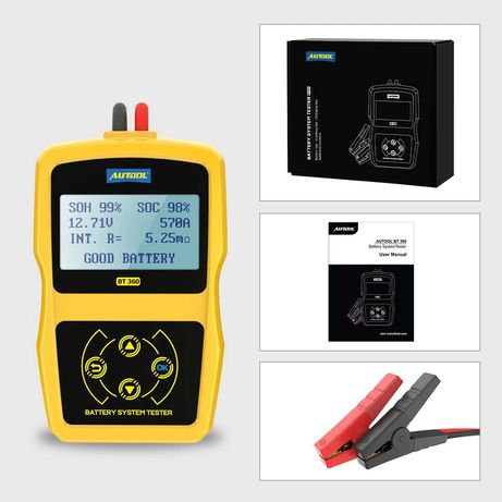 Tester de baterie acumulator auto Autool BT 360
